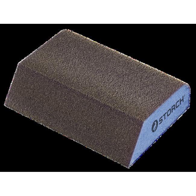 Губка шлифовальная профилированная 98 х 69 х 26 мм, К1 мелкая
